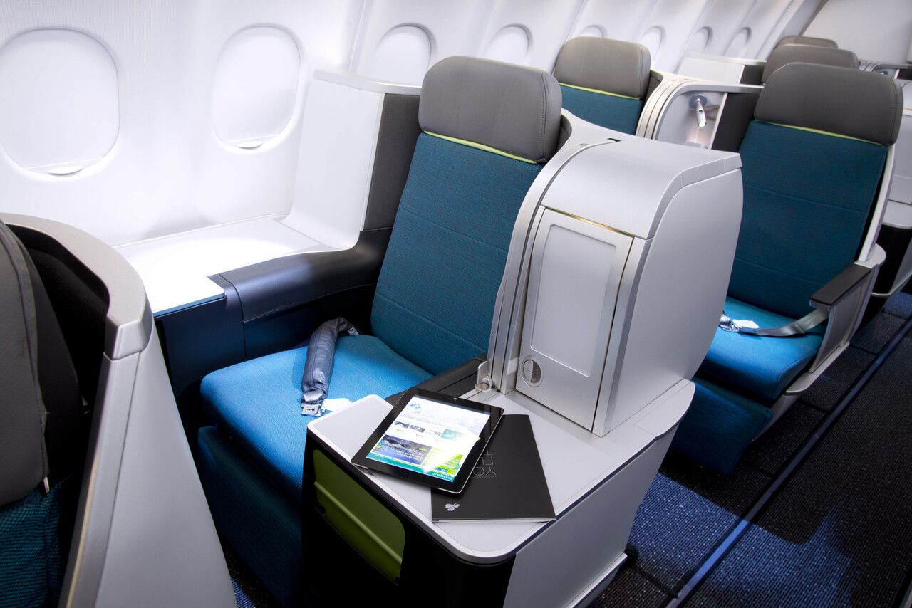 Aer Lingus launches new direct UK-US flights - Airbus A321LR business class