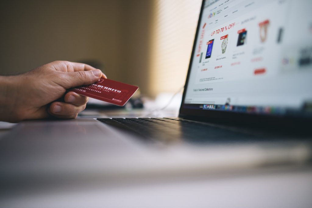 The most popular purchases online