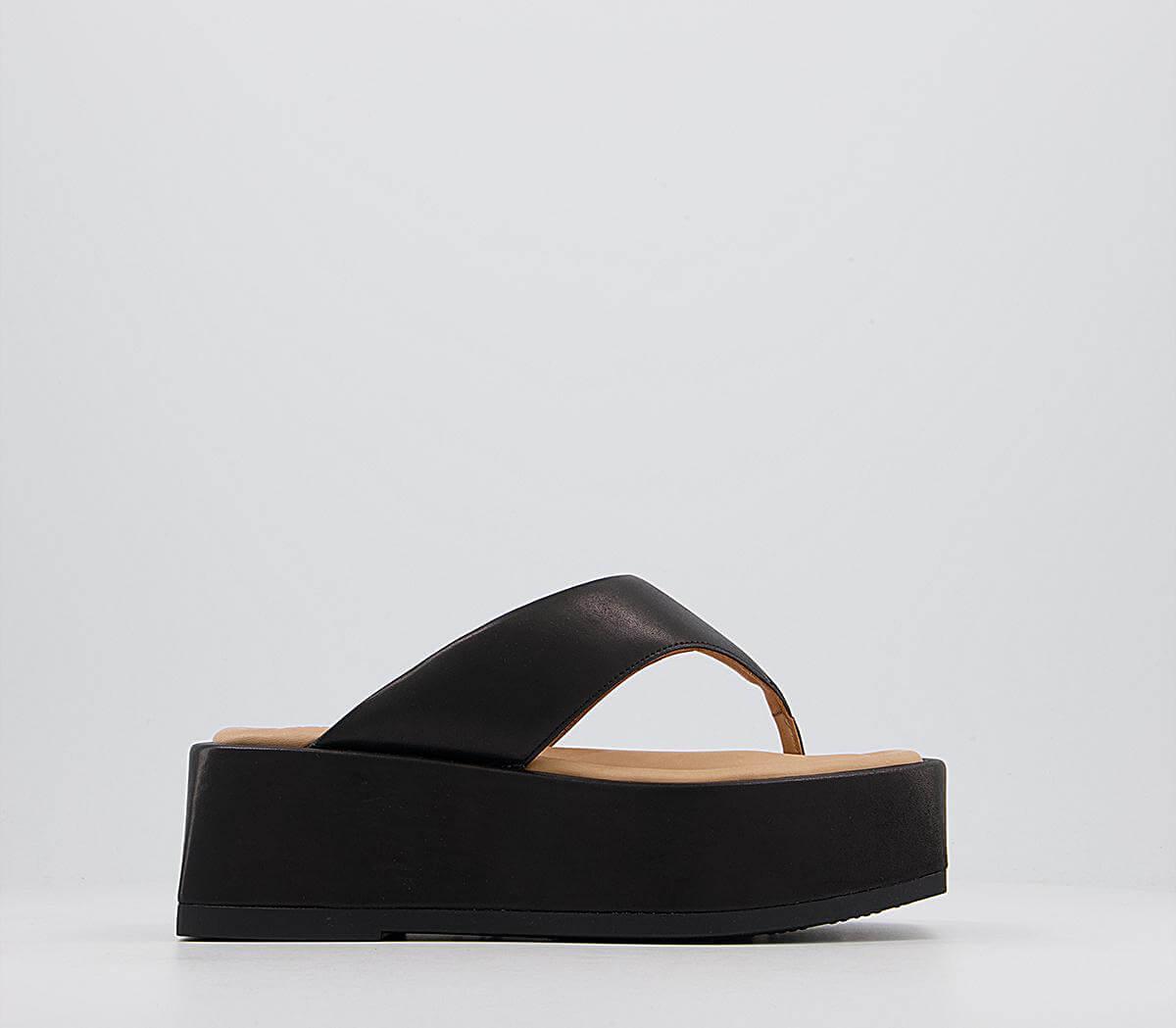 Al Fresco Fashion: Viva has you covered - Atelier by Vagabond Juno Toe Thong Platform Sandals £145.