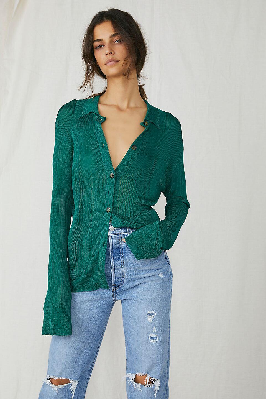 Al Fresco Fashion: Viva has you covered Free People.com H20 Polo Cardi: £98.00.