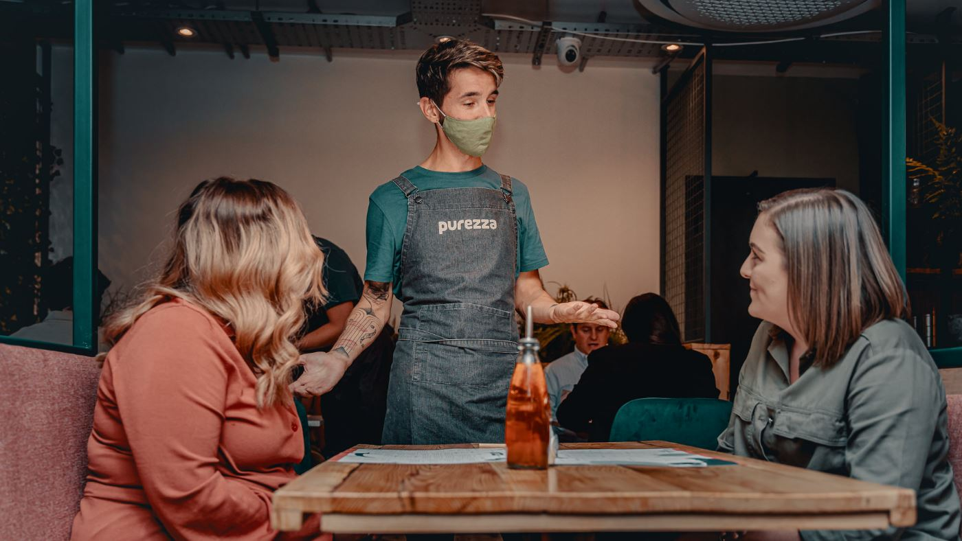 Iconic vegan pizza restaurant opens in Manchester