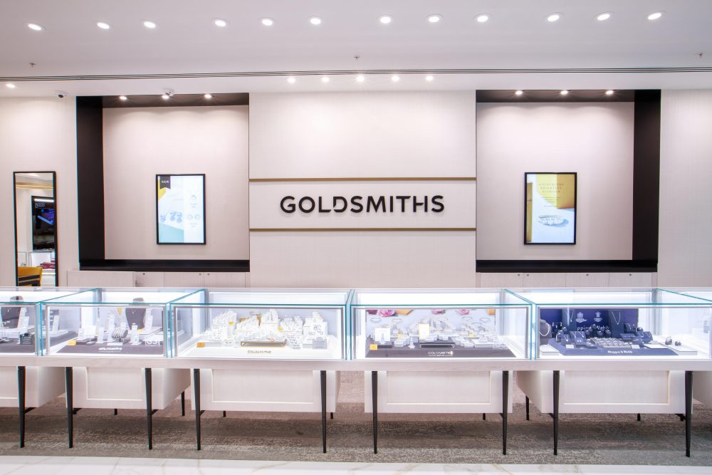 Goldsmiths gleams with new showroom