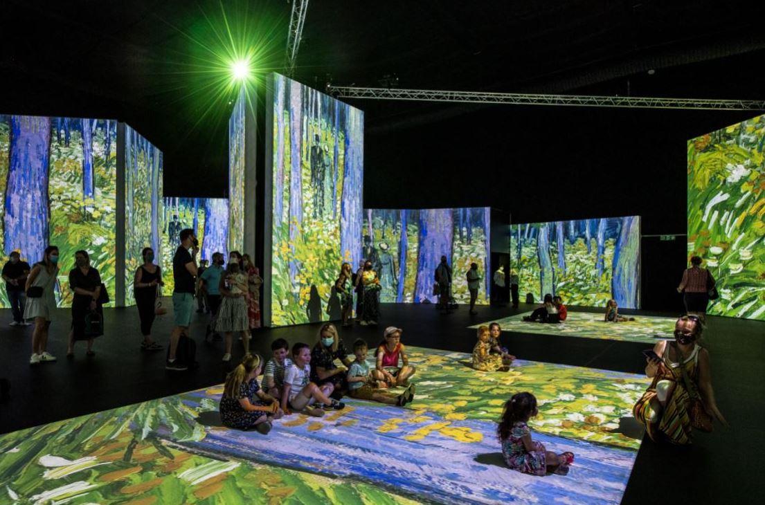 Vang Gogh Alive blooms in MediaCityUK