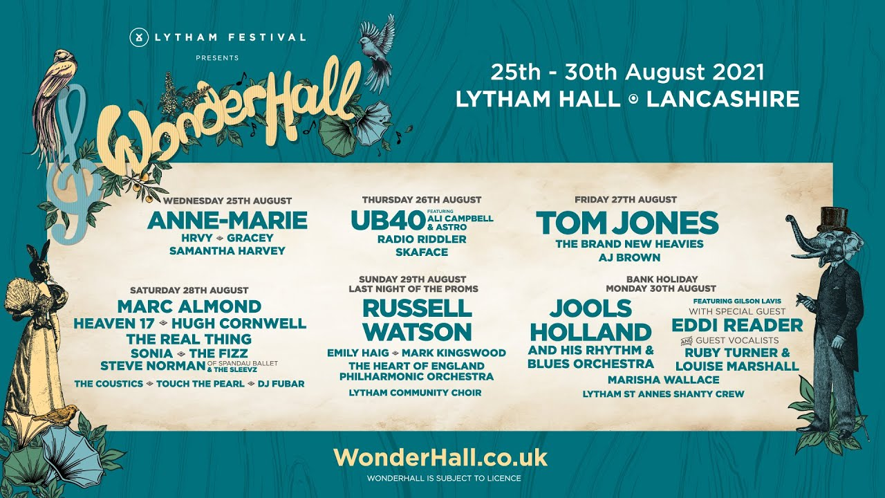 Last tickets remain for Wonderhall 2021