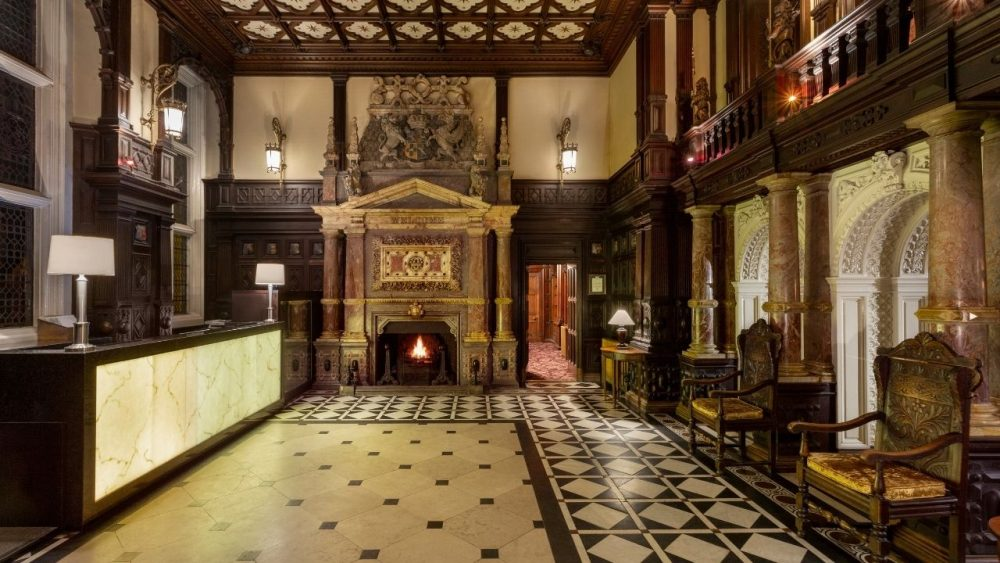 CHESHIRE: Step back in time with a stay in one of the UK's original stately mansions