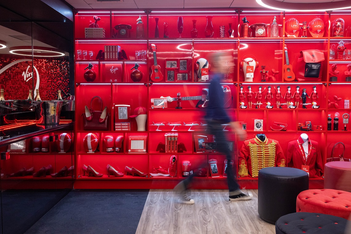 Virgin's Red Room of fun is waiting for you at Manchester's AO Arena